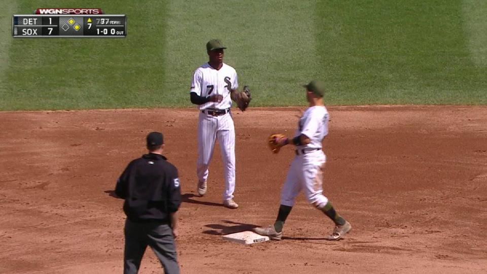 Anderson's unassisted DP