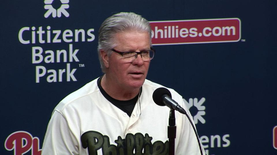 Mackanin on Phillies struggles