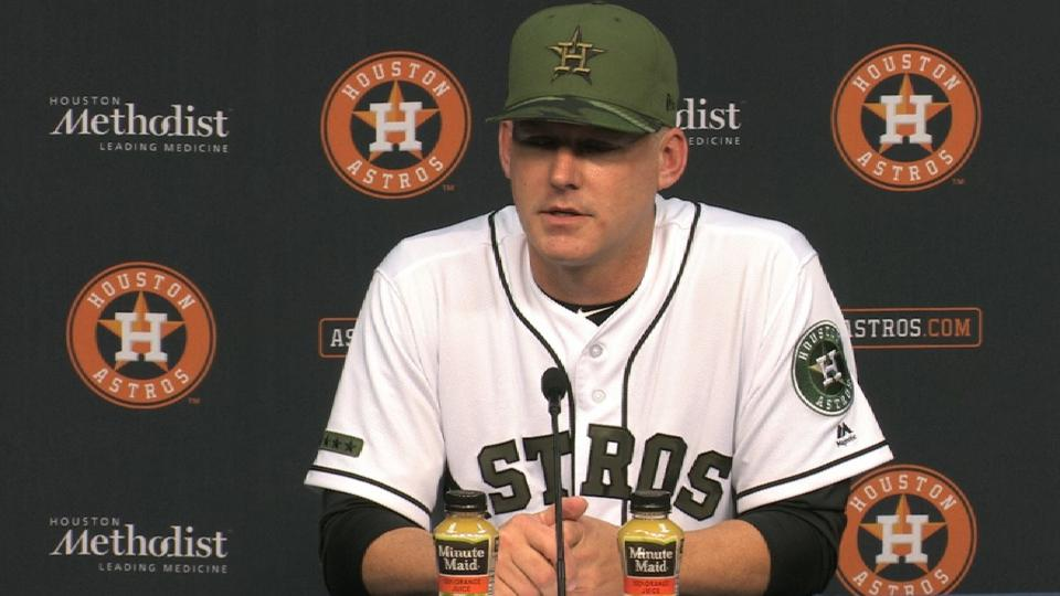 Hinch on the team's 8-4 win