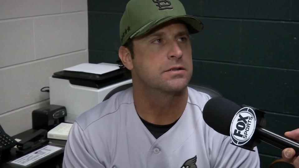 Matheny on loss to Rockies