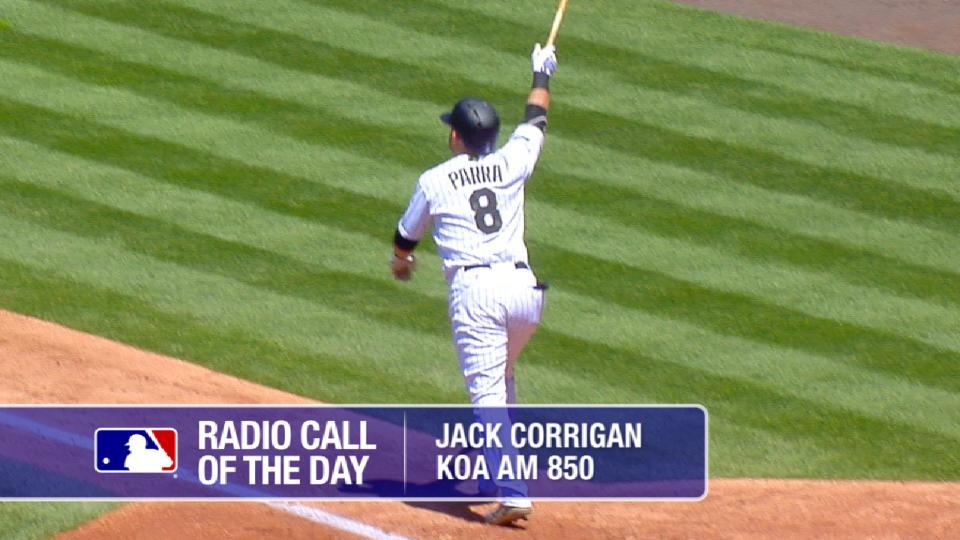 Radio Call: Parra's home run