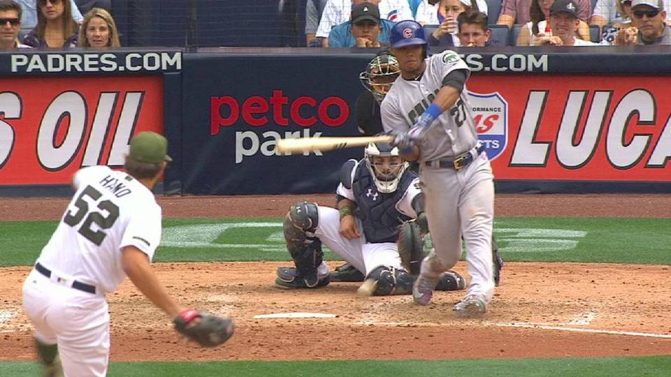 Russell HBP after challenge