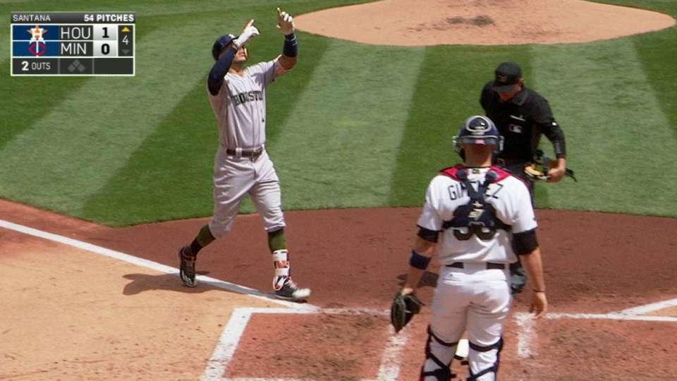 Correa's solo home run