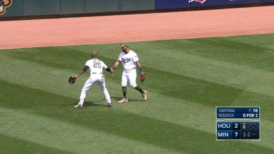 Rosario's sliding catch