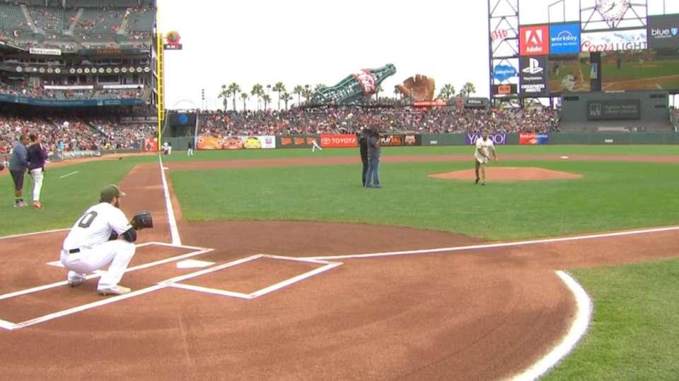 5/29/17: Vargas First Pitch