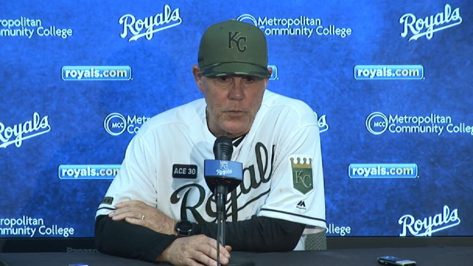 Yost on back-and-forth loss