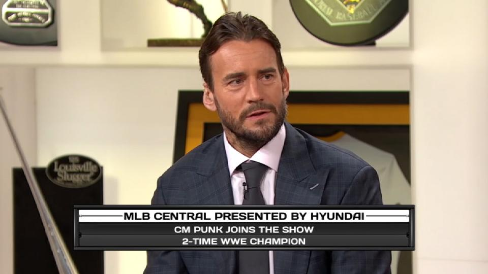 CM Punk on MLB Central
