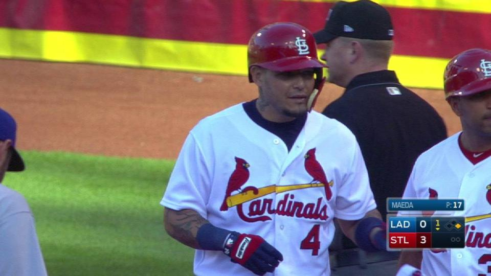 Molina's two-run single