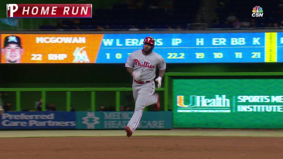 Kendrick's solo home run