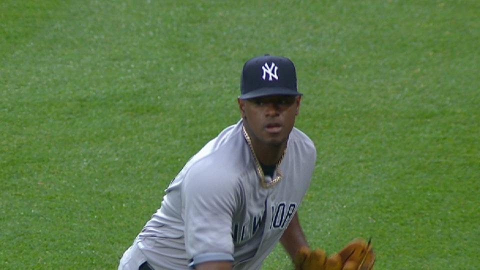 Severino's sterling outing