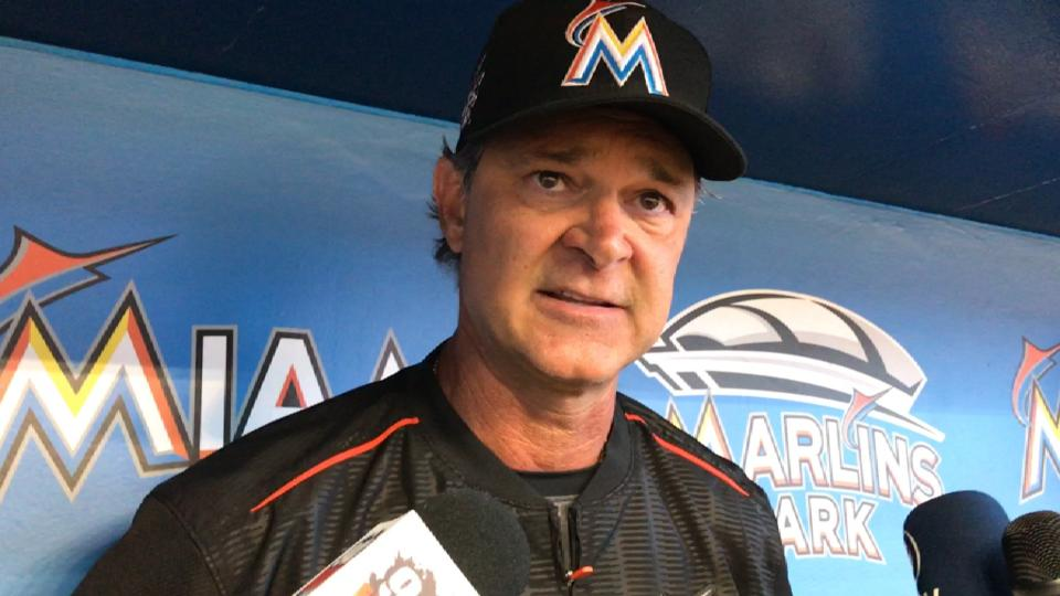 Mattingly gives Stanton update