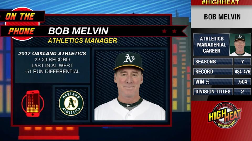 Melvin on turning season around