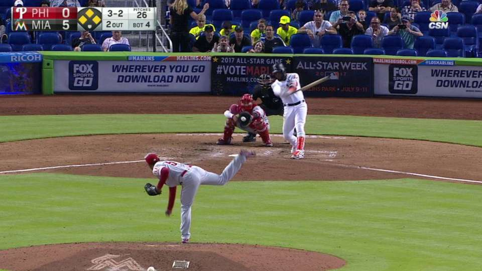 Pinto's first Major League K