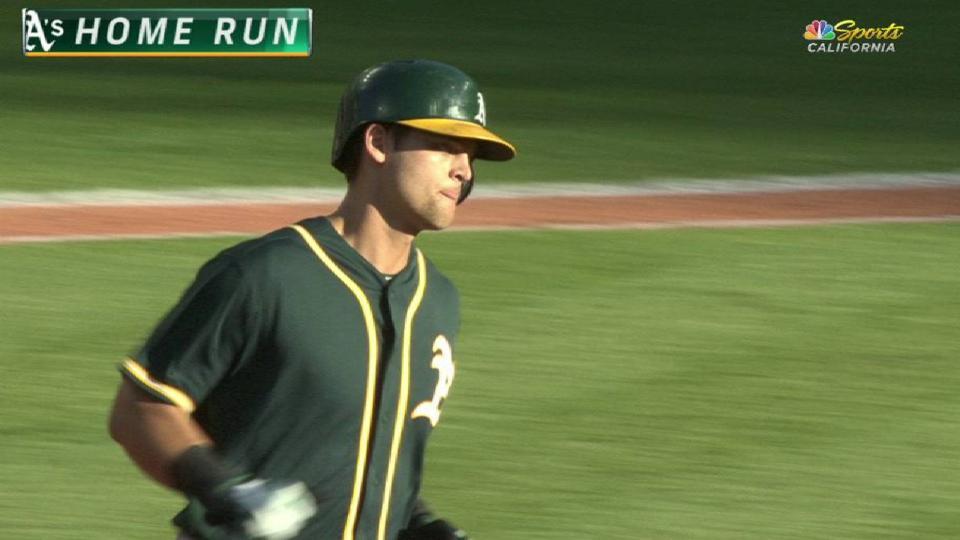 Pinder's two-run home run