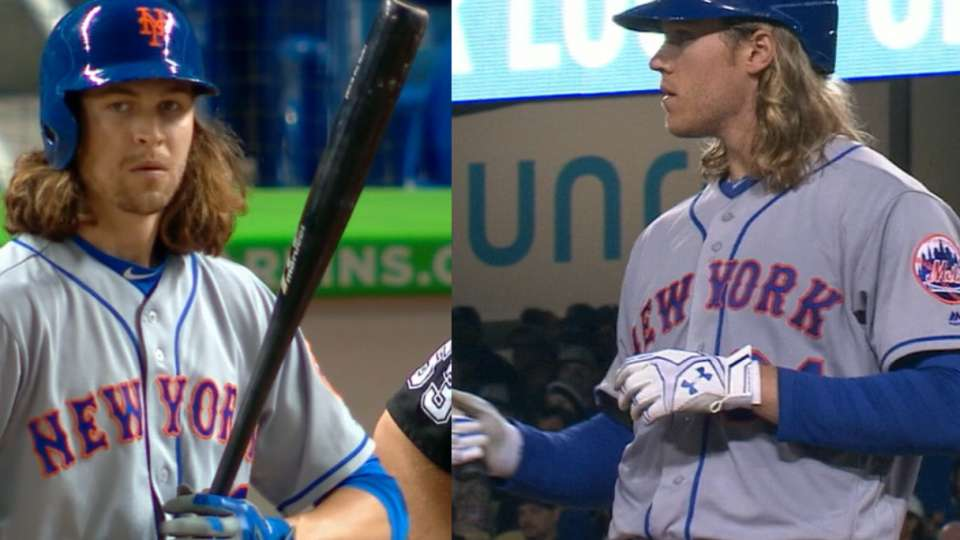 deGrom on best-hitting pitcher