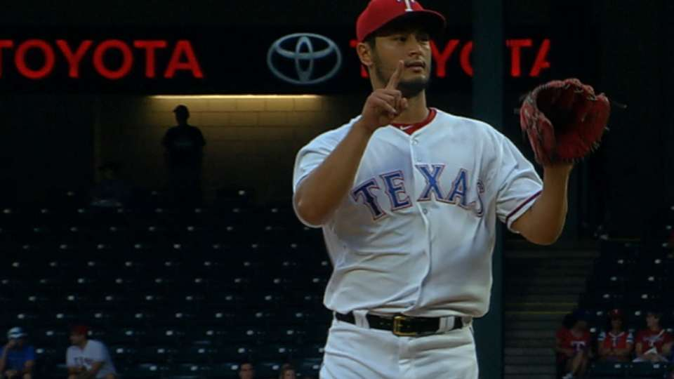 Darvish's dominant outing