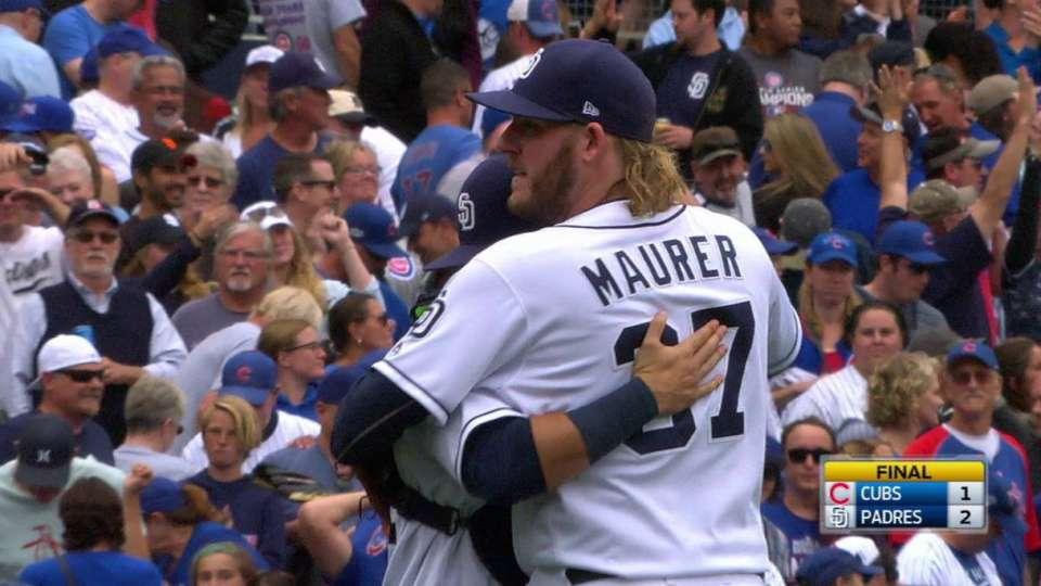 Maurer earns the save