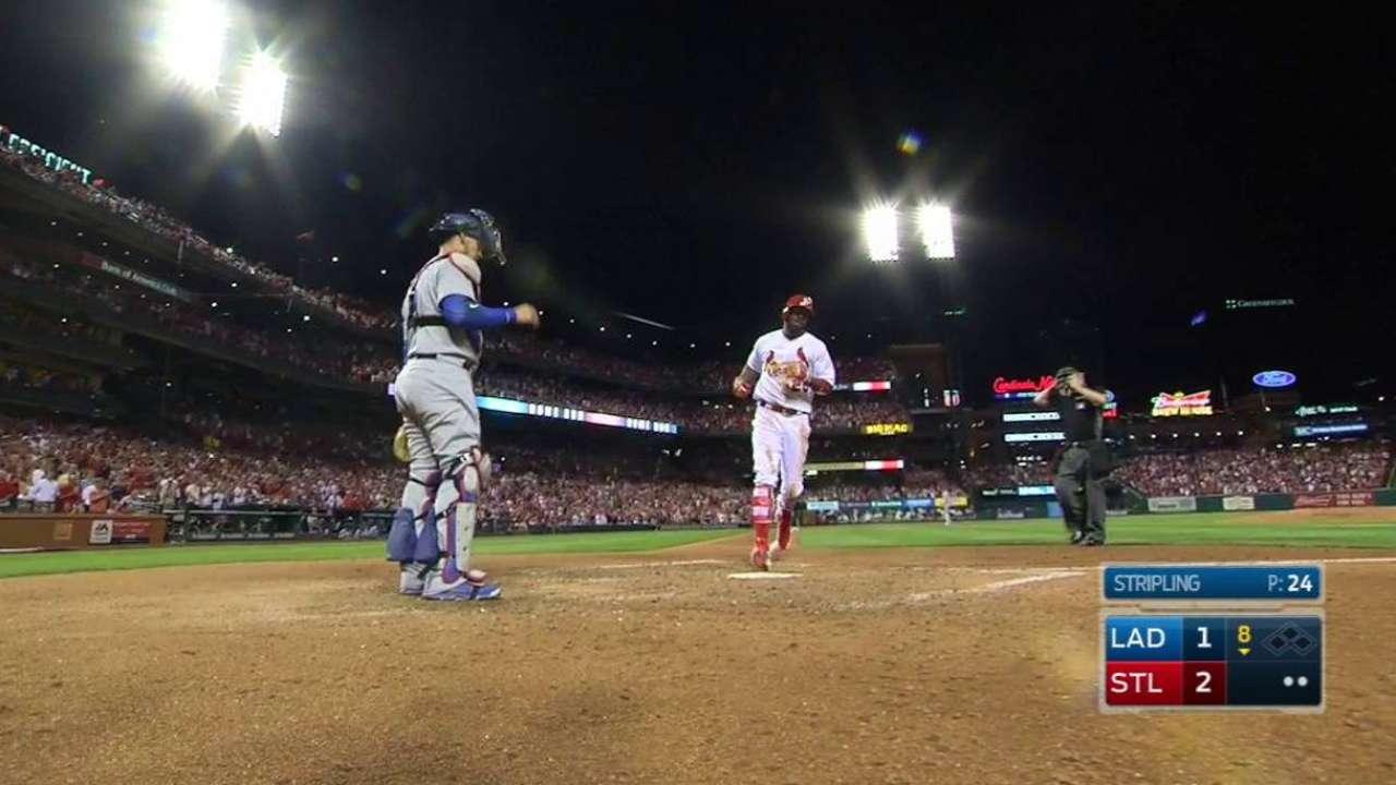 Fowler's go-ahead solo home run