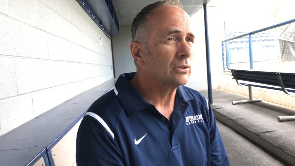 Coach on Hunter Greene