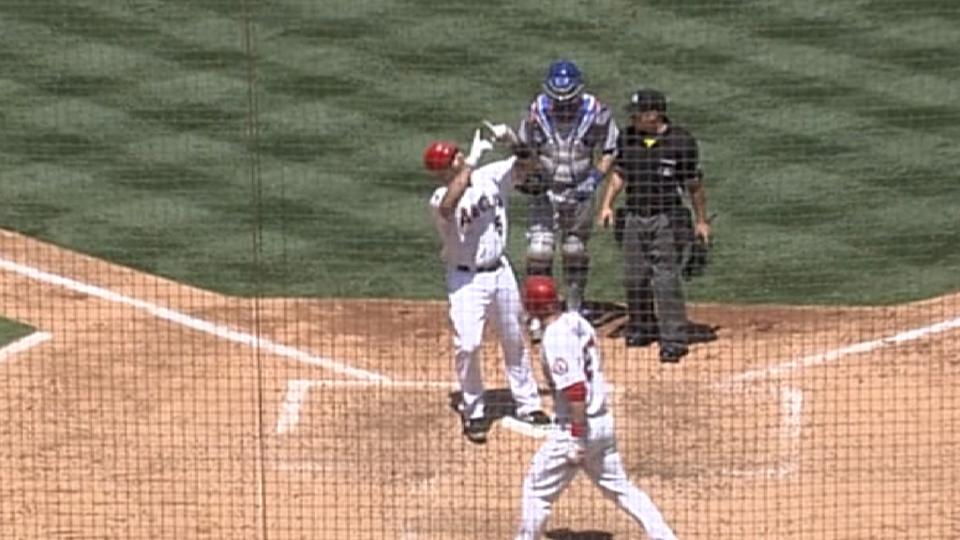 Pujols' first Angels home run