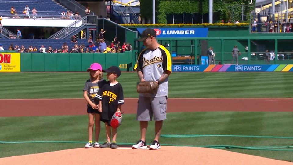 Pirates First Pitch: Smith