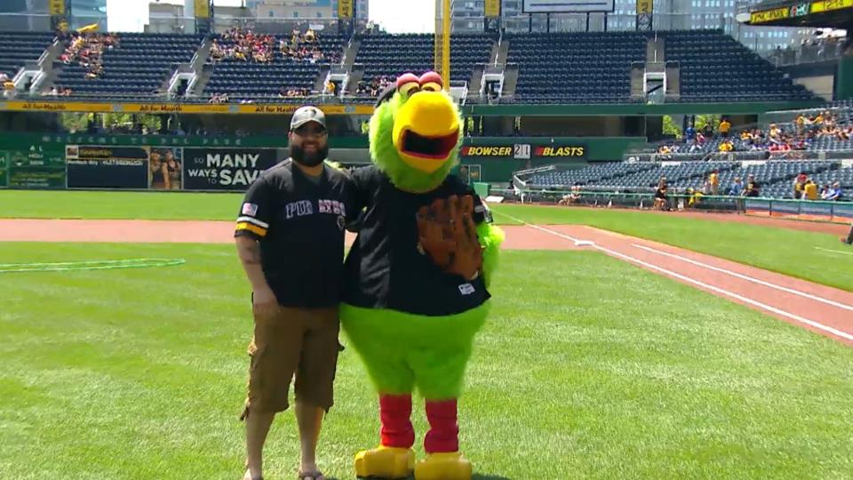 Pirates First Pitch: Mendez