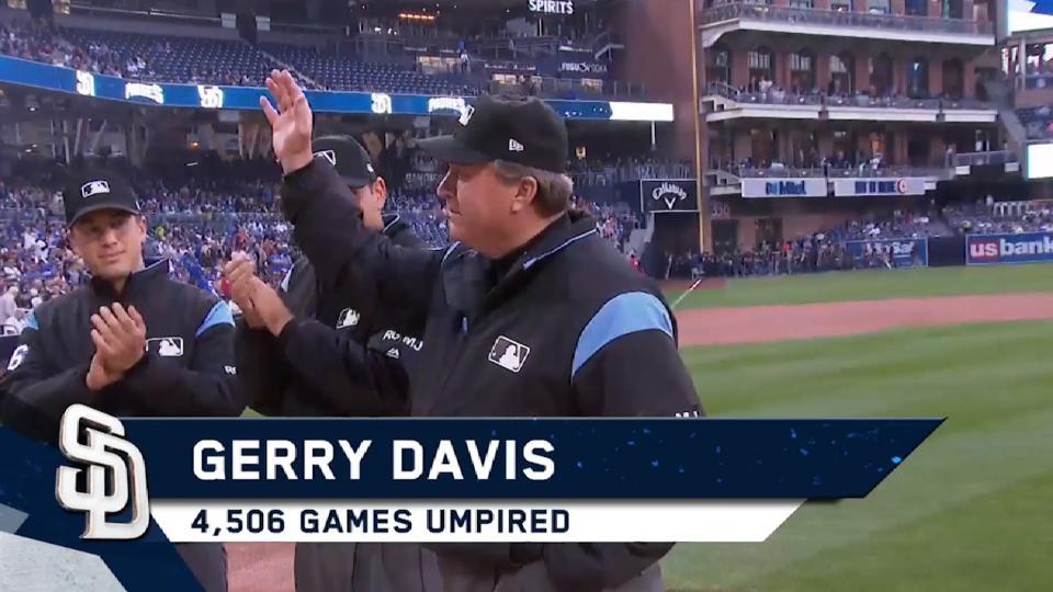 5/30/17 Umpire Gerry Davis