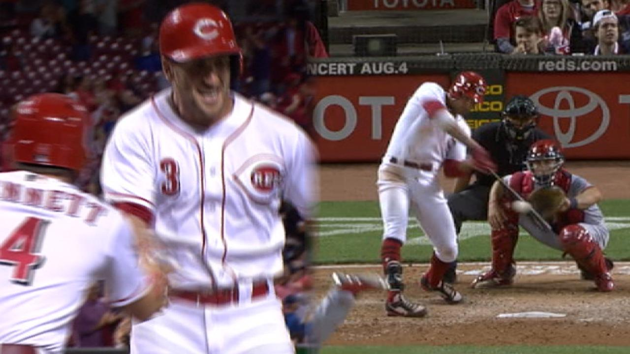 39adf50bf97 5-run 7th rallies Reds to series win over Cards