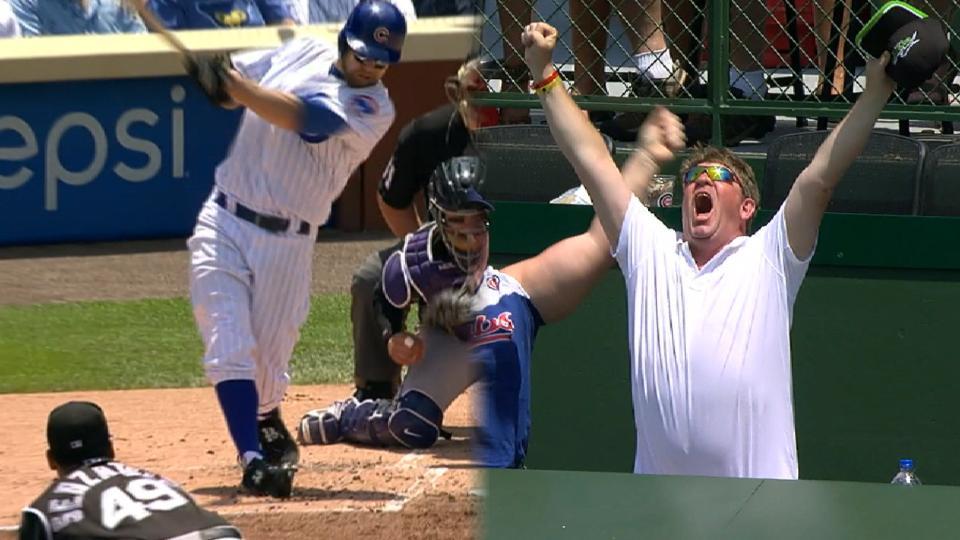 Zobrist's three-run home run