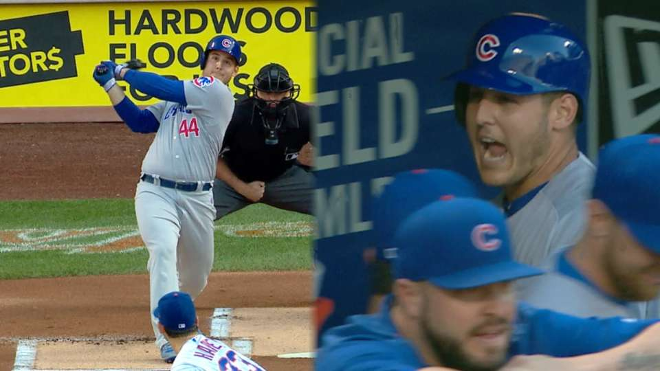 Rizzo's leadoff home run