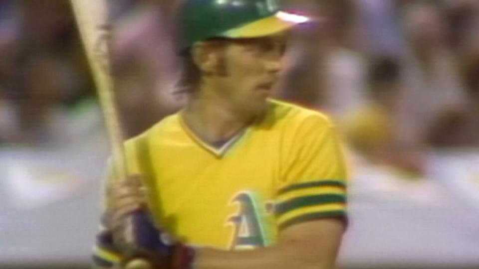 Rudi's homer gives A's the lead