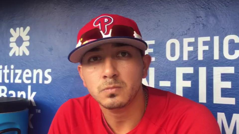Velasquez talks about his father