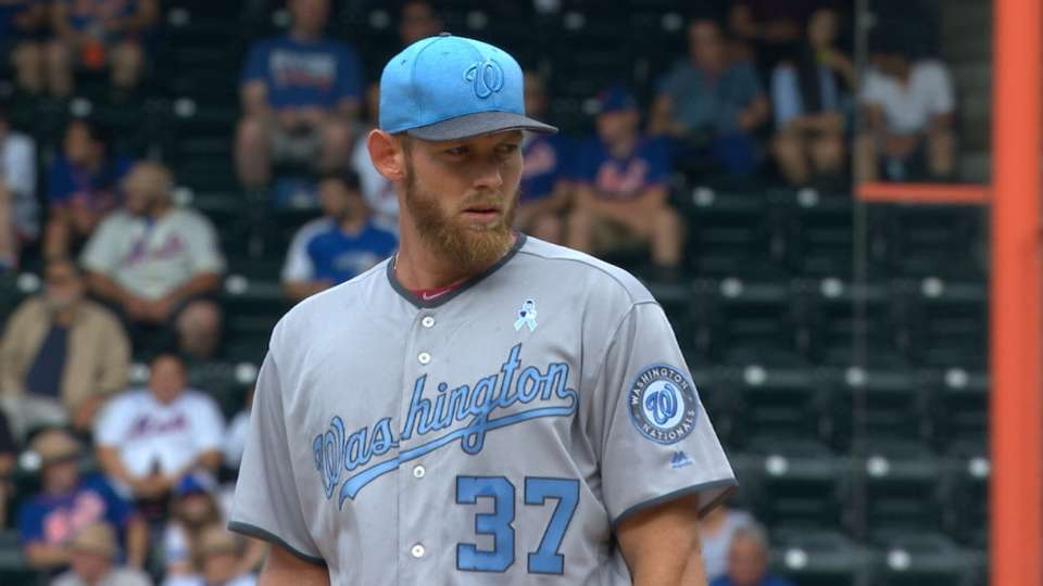 Strasburg's strong outing