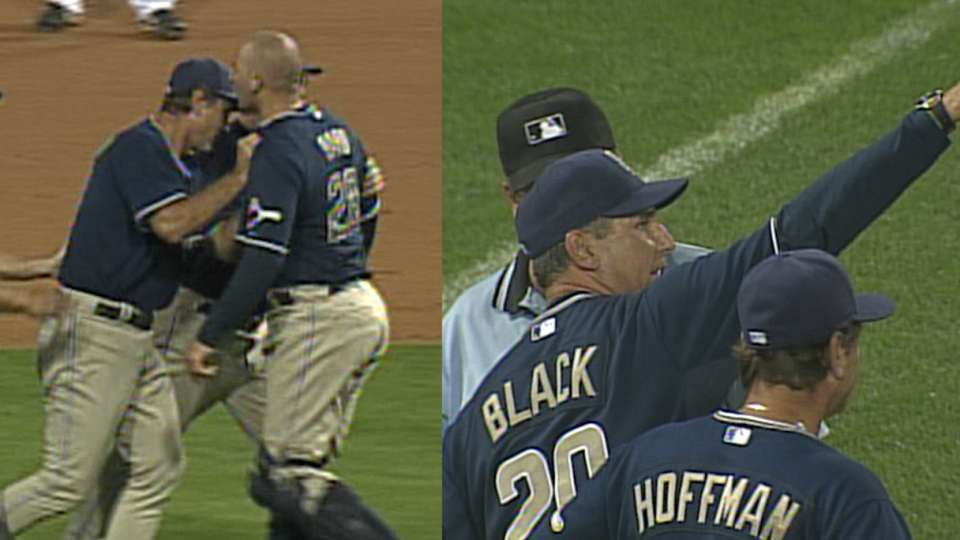 Black's first career ejection