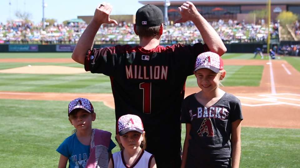 D-backs honor one millionth fan
