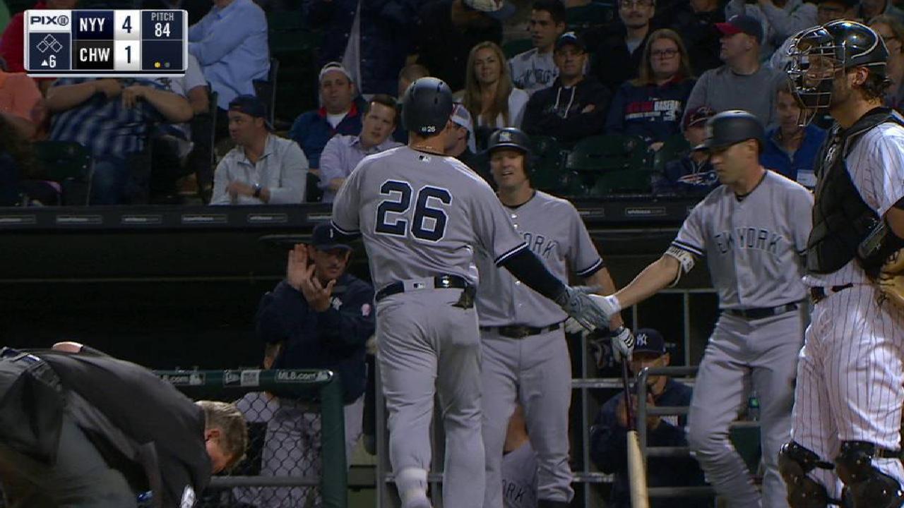 Jordan Montgomery ayuda a Yankees a ganar en Chicago