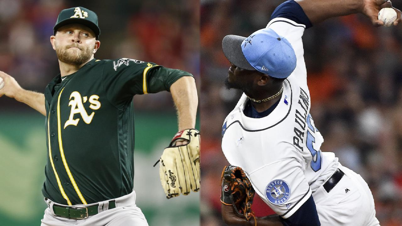 Hahn headlines A s rematch with Astros  9a7c541ae
