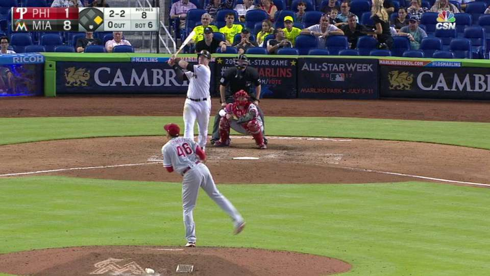 Bour's second homer of the game
