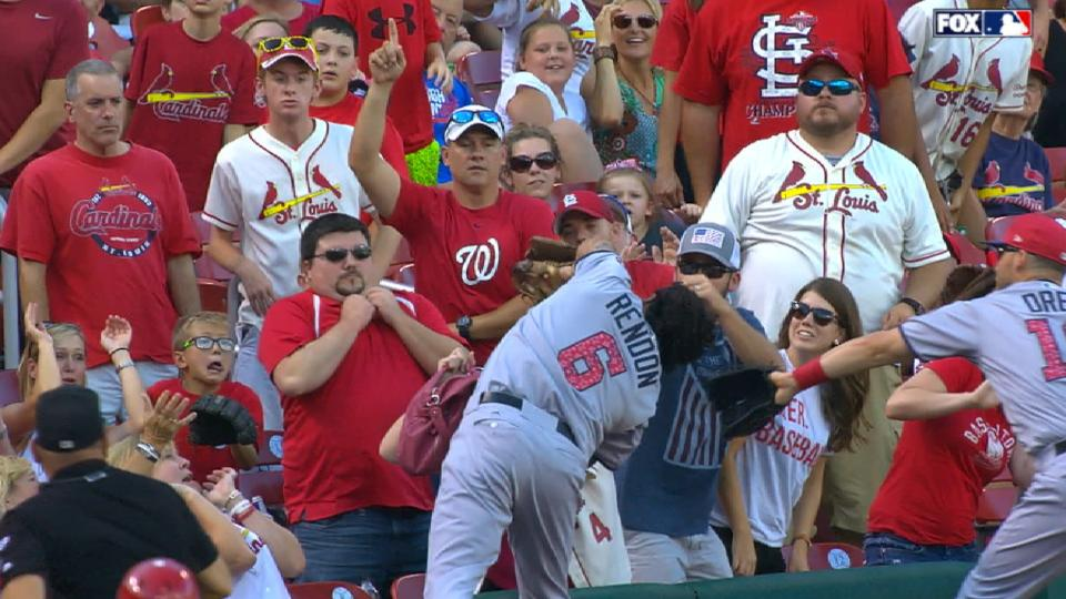 Must C: Rendon dives into stands