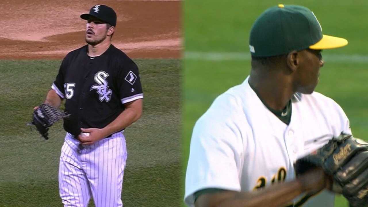 Cotton Y Rodón Toman La Pelota Al Iniciar La Serie En Oakland