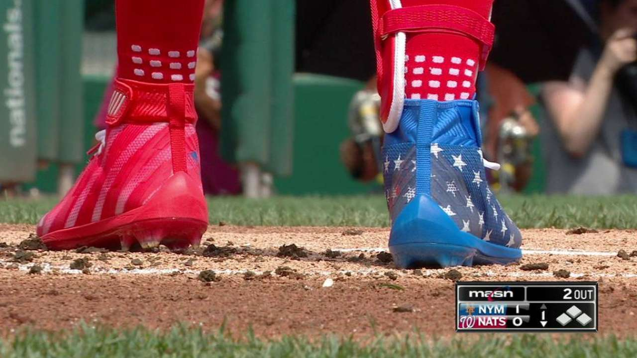 bryce harper american flag cleats