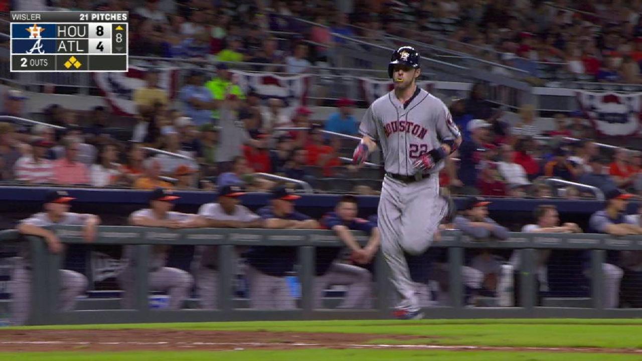 Astros le vuelven a propinar paliza a Bravos