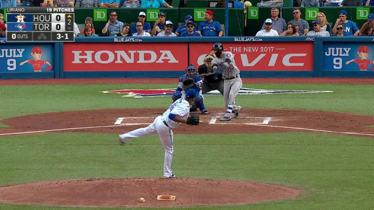 Los Astros se vieron imbatibles en la primera mitad y ahora buscan más