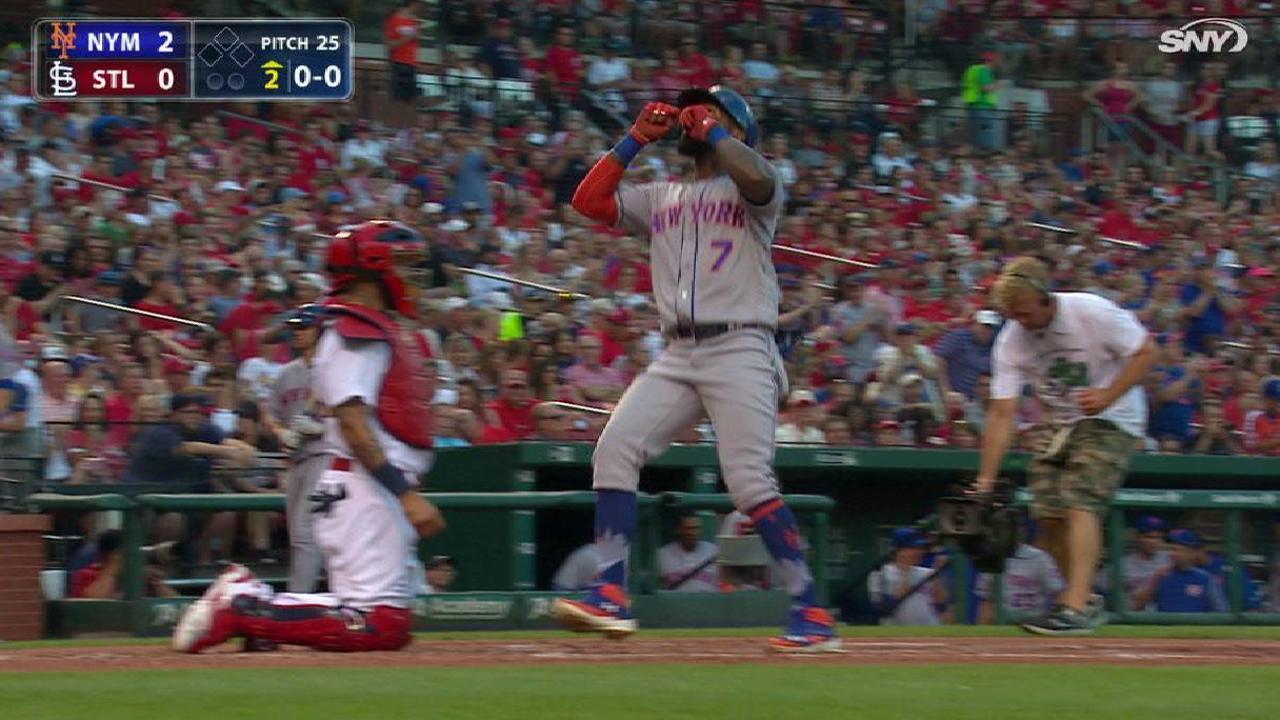 Mets superan a los Cardenales detrás de Reyes, deGrom