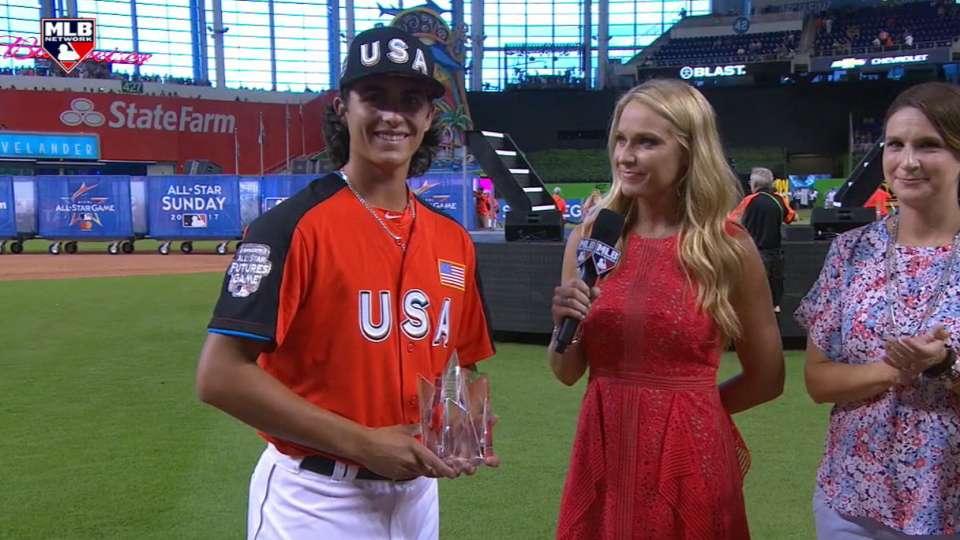 Honeywell wins Futures Game MVP