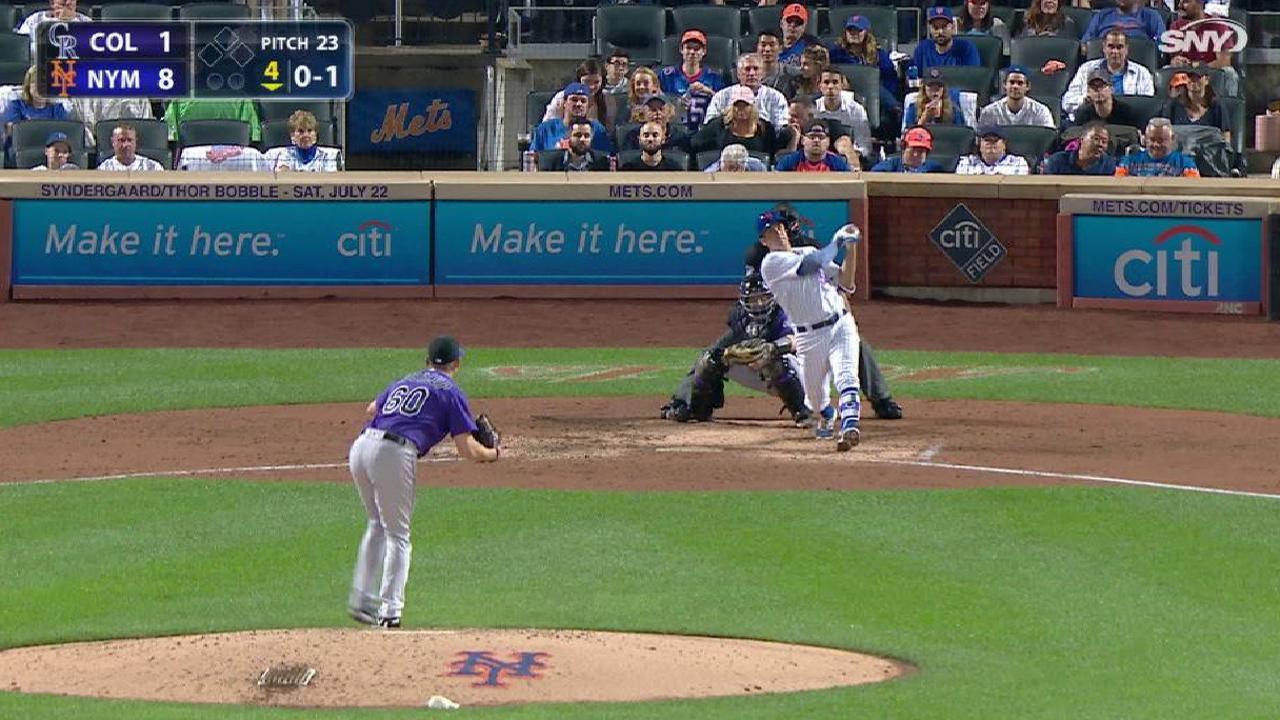 Jacob DeGrom poncha 11 en paliza de los Mets sobre Rockies