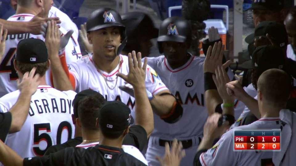 Stanton's mammoth two-run homer