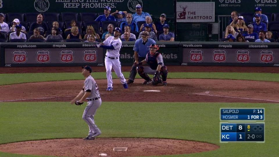 Hosmer's solo home run