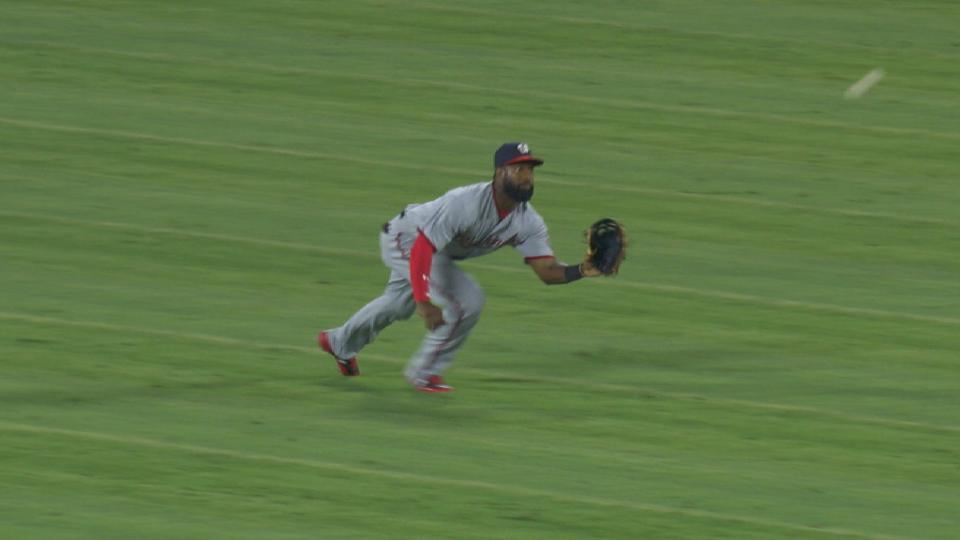 Goodwin's great diving catch