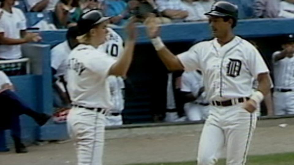 Fred Lynn's 300th home run